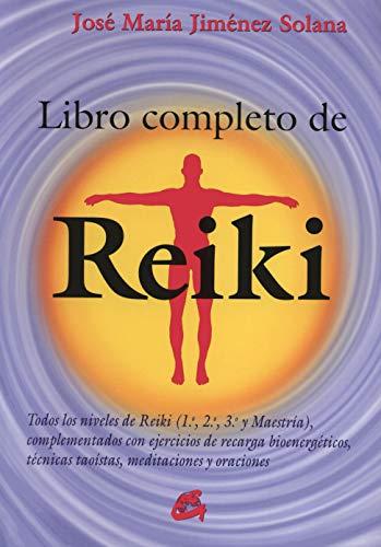 Libro Completo De Reiki de José María Jiménez Solana (Salud natural