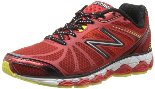New Balance M880 D V3, Scarpe da corsa Uomo Multicolore (Mehrfarbig (RB3 RED/BLACK 4)