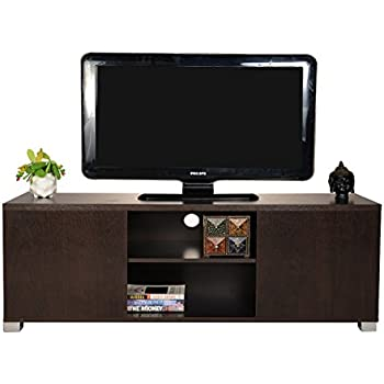 DeckUp Bei TV Stand and Home Entertainment Unit (Dark Wenge, Matte Finish)