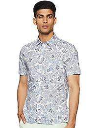 Indian Terrain Men's Floral Slim fit Casual Shirt