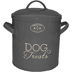 Banbury & Co de Perro Treat/Almacenamiento de Alimentos Lata