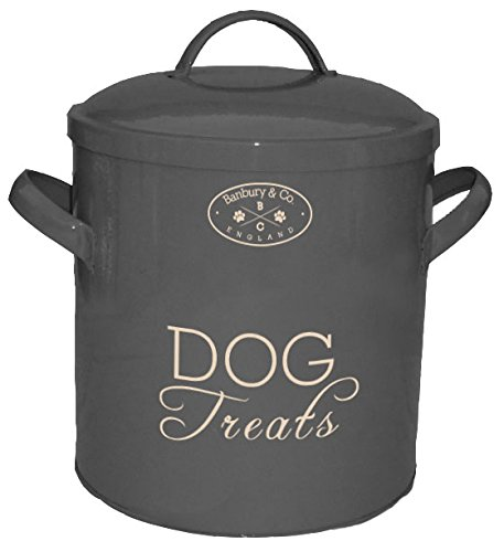 Sicherheit-dosen (Banbury & Co Aufbewahrungsbox für Hundefutter/-leckerlis, Dose)