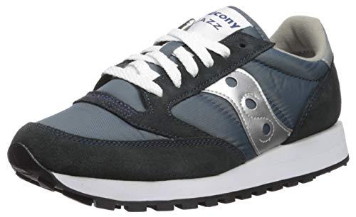 Saucony Jazz Original, Men's Low-Top Sneakers Cross Trainers, Multicolor (Navy/Silver), 9 UK...