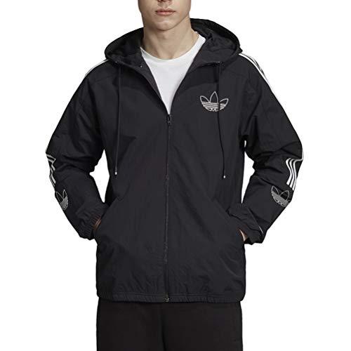 adidas Herren Outline TRF WB Sport Jacket, Black, XS
