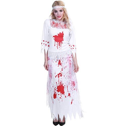 EraSpooky Halloween Zombie Braut Blutige Damen - Einfache Kerl Halloween Kostüm