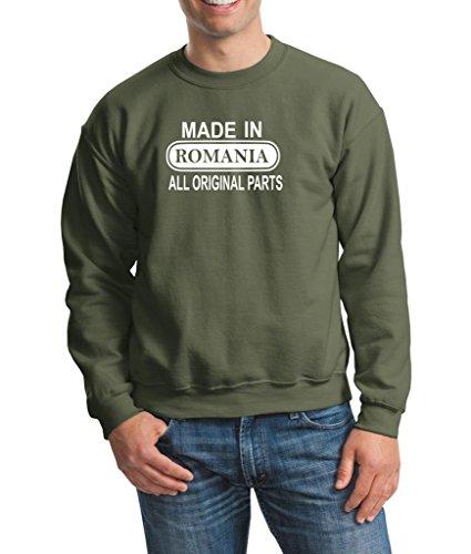 Daataadirect -  Felpa  - Uomo Military Green