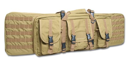 Mil-Tec Large Rifle Case Tactical Padded Gun Bag MOLLE Airsoft Shooting Hunting Coyote -