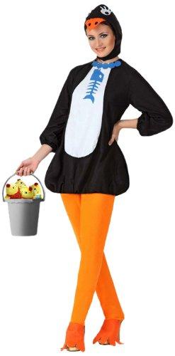 Imagen de atosa  disfraz de pingüino para mujer, talla 34 15685