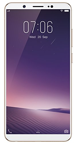 Vivo V7+ (Gold, Fullview Display) with Offers