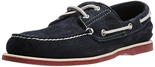 Timberland, 6305A, Classic 2 I Boat Herren, Größe 40, Blau/Navy with Red