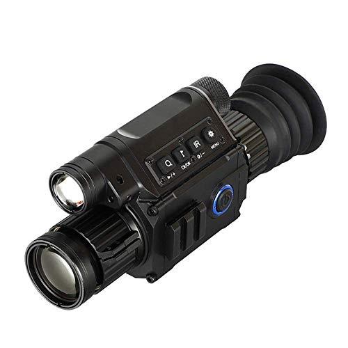 HGERFXC Visión Nocturna HD Visión Nocturna infrarroja, binoculares monoculares Telescopios Imágenes térmicas Caza Patrulla Video Visión Nocturna infrarroja