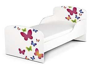 leomark kinderbett 140x70 funktionsbett einzelbett mit matratze sehr einfache montage motiv. Black Bedroom Furniture Sets. Home Design Ideas