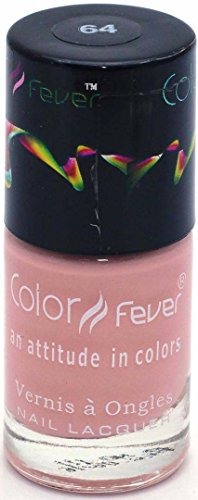 Color Fever Nude Collection Nail Gloss, Peach Serene, 9ml
