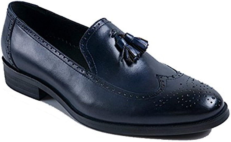 YCGCM Scarpe da Uomo in Pelle Stile Britannico Scarpe Eleganti da Lavoro Versione Europea E Americana Atmosfera... | I Clienti Prima  | Scolaro/Signora Scarpa