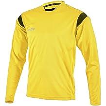 Mitre Motion - Camiseta de equipación de fútbol para hombre, color amarillo, talla Large