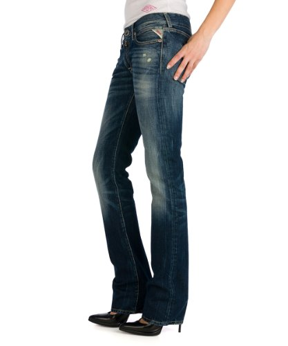 Replay Damen Straight Fit Jeans Nadie WX670 Blau (9)