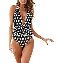 450b8e48232f ITISME Costume da Bagno Intero Donna,Vendita Calda Taglie Forti Push Up Mare  Curvy con