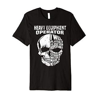 Heavy Equipment Operator Shirt For Men