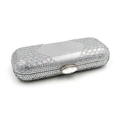 ZYT Damen Polyester Formell Alltag Veranstaltung / Fest Hochzeit Büro & Karriere Abendtasche Silver