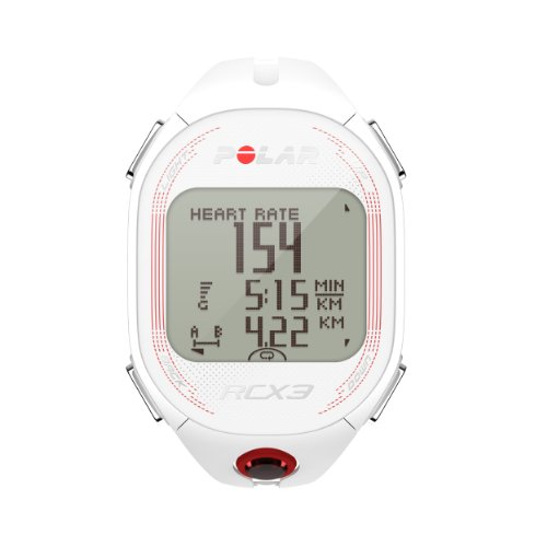 Polar RCX3 GPS (Incluye G5) Pulsómetro, Mujer, Blanco, Talla única