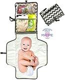 Kit Fasciatoio Portatile Pieghevole Da Viaggio Per Neonato e Bambini - Per...