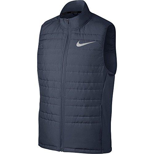 Nike Herren M Nk Filled Essential Vest Wattierte Weste Donner Blau/Metallisches Silber