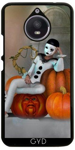Moto E4 Plus - Pumkin Clown by Illu-Pic.-A.T.Art (Le Clown D'halloween)