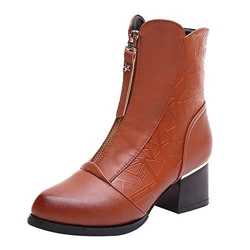 ODRD Sandalen Shoes Spitz Thick Mit Samt Bare Boot Weibliche Britische Hochhackige Stiefel Baumwollschuh Schuhe Strandschuhe Freizeitschuhe Turnschuhe Hausschuhe Bare Sandale