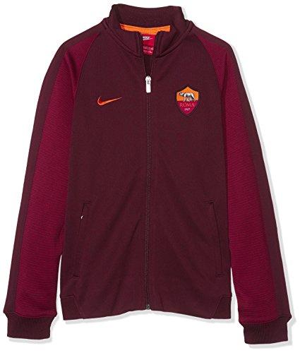 Nike NSW N98 Rome et TRK AUT AS Roma JKT Veste Homme Rouge (Night Maroon / Kumquat)