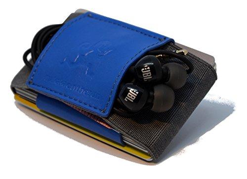 MakakaOnTheRun Premium veganes Slim Wallet & Kartenetui mit Geldklammer - Mini Portemonnaie für Herren & Damen - Kleine Geldbörse, minimalistischer Geldbeutel