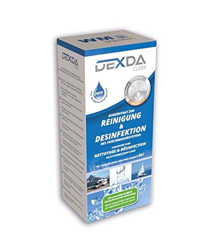 WM aquatec DEXDA Clean 100 ml - zur Tank-u. Leitungsdesinfektion, Tankreinigung, Trinkwasserdesinfektionsmittel (Wasser-reinigung Tabletten)