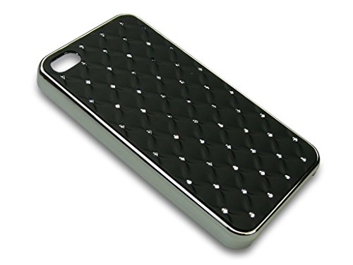 Sandberg Diamond Bling Cover für iPhone 4/4S schwarz