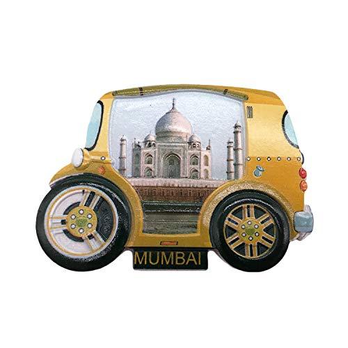 3D Mumbai Indien Kühlschrank Kühlschrankmagnet Tourist Souvenirs Handgemachte Harz Handwerk Magnetische Aufkleber Home Küche Dekoration Reise Geschenk