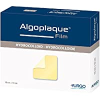 ALGOPLAQUE Film 5x5 cm dünn.Hydrokoll.Verband 10 St Verband preisvergleich bei billige-tabletten.eu