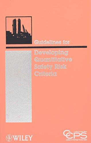 Guidelines for Developing Quantitative Safety Risk Criteria