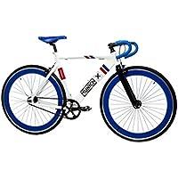 Moma Bikes , Vélo de Ville, Fixie MUNICH SPORT RETRO, Aluminium (Plusieurs Tailles)
