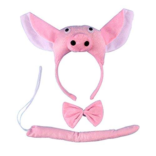 Blancho Kinder Performances Schwein Tiere 3D-Kleidung-Klage Dressing Partei -