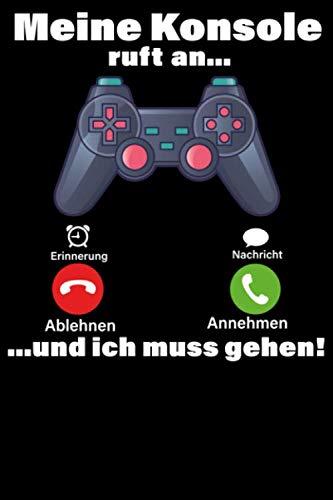 Gaming Notizbuch: DIN A5 Gepunkt...