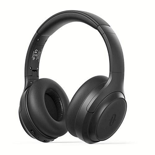 Active Noise Cancelling Kopfhörer TaoTronics Bluetooth 5.0 Kabellos Kopfhörer Over Ear ANC Tiefer Bass mit CVC Geräuschunterdrückendes Mikrofon 30 Std. Spielzeit Wiedergabedauer für Reisen Fahren Büro Bluetooth-kopfhörer