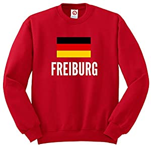 Sweatshirt Freiburg city Red