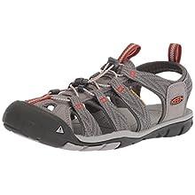 Keen Men's Clearwater CNX Hiking Sandals, Grey (Grey Flannel/Potter Clay Grey Flannel/Potter Clay), 7.5 UK 41 EU