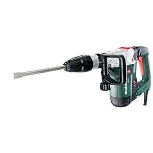 Metabo 600688000 600688000-Martillo Pesado SDS-MAX MHE 5 1300W con maletín, 1300 W, 0 V, Negro, Verde, Gris