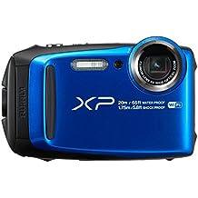 "Fujifilm FinePix XP120  - Cámara acuatíca de 16.4 MP (pantalla de 3"", estabilizador óptico, video Full HD, Wifi) azul"