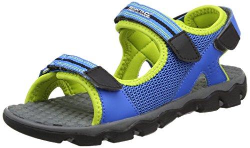 Regatta Terrarock Jnr, Unisex Kids Hiking Sandals, Blue (Frchbl/Limep), 3 (36 EU)