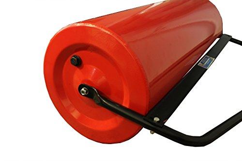 Baumarktplus Gartenwalze für Rasentraktor ATV Quad Ackerwalze 98 cm Walze Rasenwalze