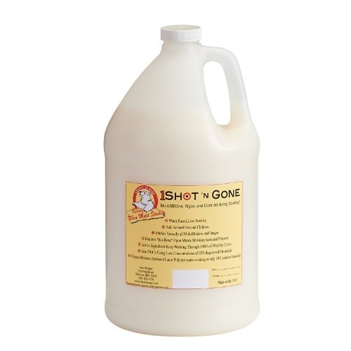 1 Shot 'N Gone BGMI-128G Mold, Mildew, Algae, and Fungus Prevention, 128 oz (1 Gallon) by 1 Shot n Gone