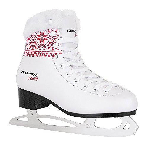 Unbekannt Tempish Damen North Eiskunstlaufschlittschuhe Für Mädchen, Weiß, 38