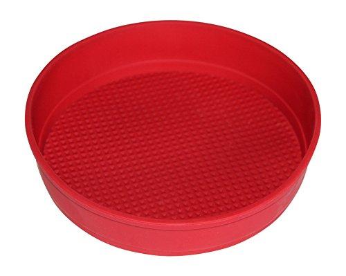 Mini Tortenform Silikon ⋅ Ideal zum Backen ⋅ Antihaftbeschichtet ⋅ Hitzebeständig und spülmaschinengeeignet ⋅ 100% lebensmittelechtes Silikon ⋅ Rot ♥ Verilicious