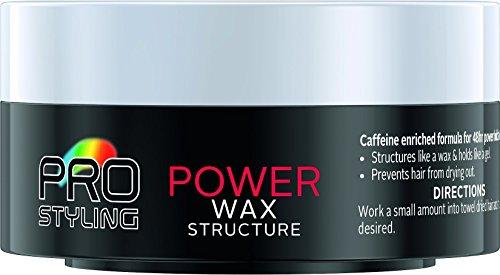 Schwarzkopf Pro Styling Power Wax 75 ml – Pack of 6