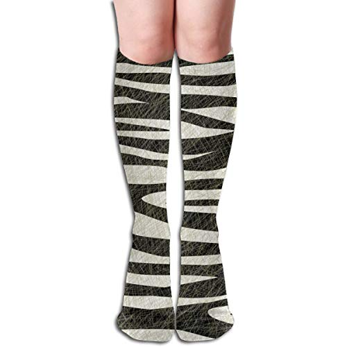 AMBOSELI KENYA ZEBRA Comfortable Adult Knee High Sock Gym Outdoor Socks 50cm 19.7inch -